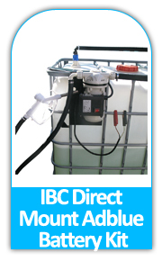 IBC mount battery adblue kit